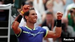 Çaste pas fitores së tenistit Rafael Nadal