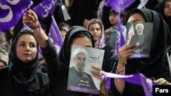 Hassan Rouhaninin tərəfdarları