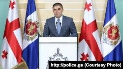 Глава департамента криминальной полиции МВД Грузии Мамука Челидзе