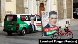 Pano të Gregely Karacsony, i cili sipas rezultateve preliminare, ka fituar zgjedhjet lokale në Budapest.