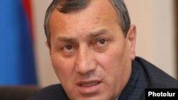 Губернатор Сюникской области Сурик Хачатрян (архив)
