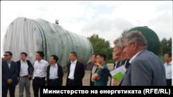 """Момент от посещението на представители на Китайската национална енергийна администрация на площадката на АЕЦ """"Белене"""""""