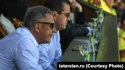 Рустем Минниханов и Ильсур Метшин