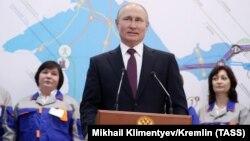 Ресей президенті Владимир Путин. Севастополь, 18 наурыз 2019 жыл.