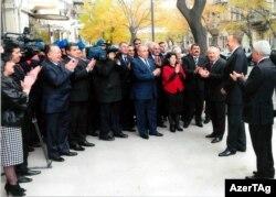 Prezident İlham Əliyev Hesablama Palatasının yeni binasının istifadəyə verilməsi mərasimində - 21 dekabr 2009