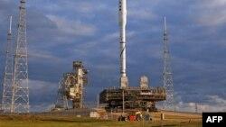 Pamje nga platformat e lansimit të agjencisë NASA në Shtetet e Bashkuara