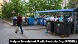 Сміття у Львові. 15 травня 2017 року