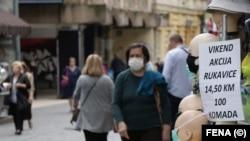 Građani sa maskama, Sarajevo