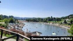 Panonsko jezero, Tuzla 1. jula
