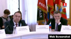 Главари группировок «ЛНР» и «ДНР» на заседании «интеграционного комитета» в Крыму