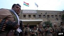 Ирактың Күрдістан автономиялық аймағының күрдтерден құралған пешмерга жасақтары.