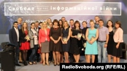 Ukrainian Service journalists gather at 60th anniversary event in Kyiv, 18 Sep 2014