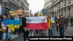 Ілюстраційне фото. Марш солідарності з Україною у Варшаві, 23 листопада 2014 року