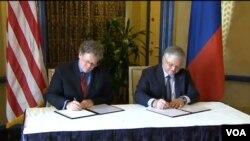 Հայաստան-ԱՄՆ Առևտրի և ներդրումների շրջանակային համաձայնագրի ստորագրումը, Վաշինգտոն, 7-ը մայիսի, 2015թ․