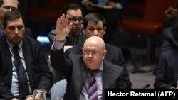 Российский представитель в ООН голосует против американского проекта резолюции