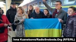 Николай Семена в Киеве, 19 февраля 2020 года