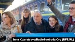Mıkola Semena Kyivde, 2020 senesi fevralniñ 19-ı