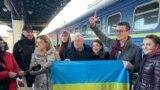 «Я чувствовал лучи вашей поддержки»: как Николая Семену встречали в Киеве (видео)