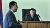Адвокат Арам Орбелян в суде