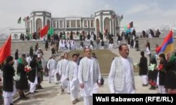 Жаңадан салынған Пагман сарайы. Кабул, 13 наурыз 2014 жыл.