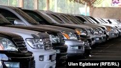 Бишкектеги машине базар