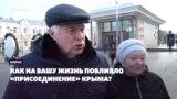 «Ми собаку Кримом назвали»: як анексія вплинула на росіян (відео)