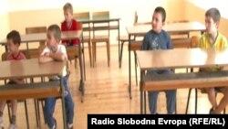 Училиште во село Косово во Општина Македонски Брод во 2015 година