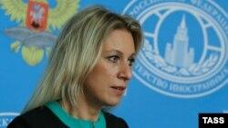 Rusiya Xarici İşlər Nazirliyinin sözçüsü Mariya Zaxarova
