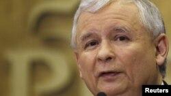 Ярослав Качинський, лідер польської опозиційної партії «Право і справедливість»