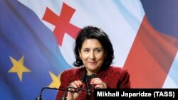 Президент Грузии Саломе Зурабишвили
