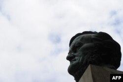 Bust al lui Richard Wagner la Bayreuth