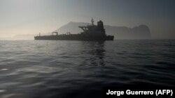 ابرنفتکش گریس ۱ در تنگه جبلالطارق