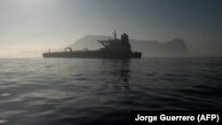 تصویری از ابرنفتکش ایرانی در آبهای جبلالطارق؛ پنجشنبه ۲۴ مرداد