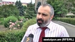 Пресс-секретарь президента Нагорного Карабаха Давид Бабаян, 7 июня 2018 г.