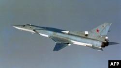 Российский сверхзвуковой бомбардировщик-ракетоносец Ту-22М