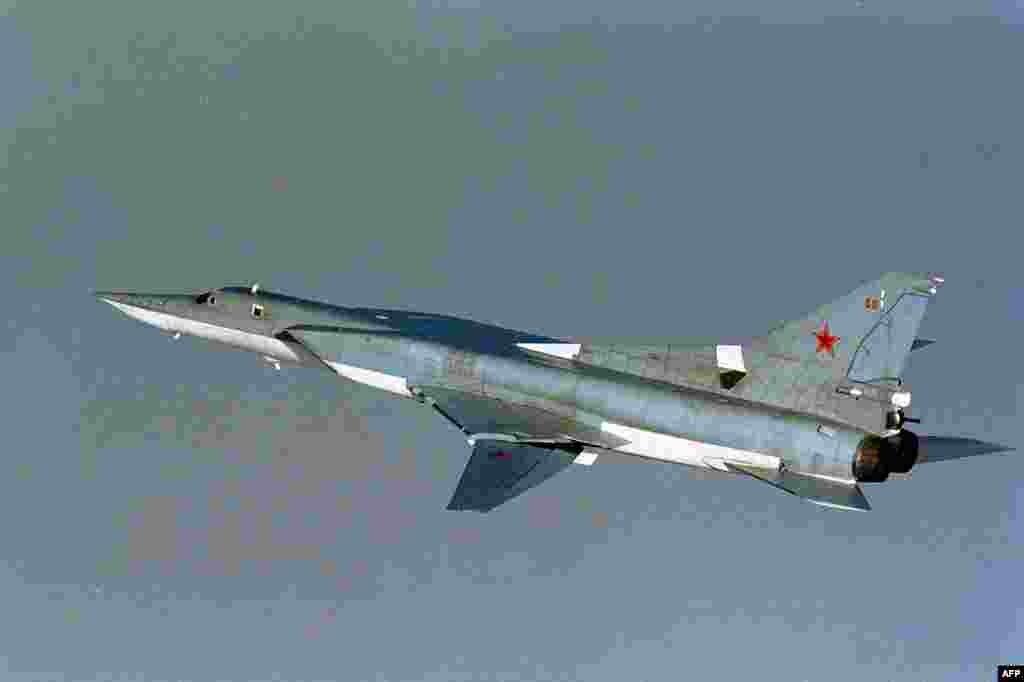 Швеция билігі елдің әуе кеңістігіне рұқсатсыз кірді деген ресейлік ТУ-22 әскери ұшағы.