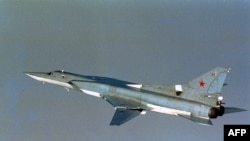 Aeroplani luftarak rus i tipit TU 22 Backfire