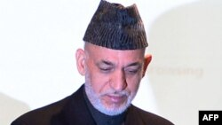 Aвганистанскиот претседател Хамид Карзаи.