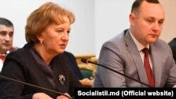 Zinaida Grecianîi și Vlad Bătrîncea la Moscova