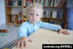 Малодшаму сыну Стаху 25 сакавіка споўніўся годзік