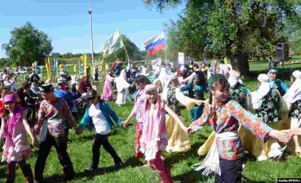 Тевриз районы Таулы авылында күмәк чыгыш