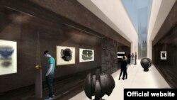 Izložbena sala budućeg muzeja