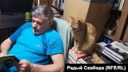 Ян Максімюк з катом Піліпкам