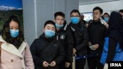 کنترل ویروس کرونا، بامداد امروز در فرودگاه امام تهران