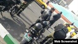 فضای سنگین امنیتی در میدان انقلاب و خیابانهای اطراف