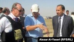 سفير هولندا في العراق هاري مولينار في زيارة للنجف
