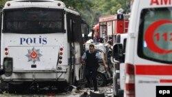 Kako javljaju agencije, jedanaest ljudi je povređeno u eksploziji