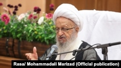 Grand Ayatollah Naser Makarem Shirazi, on May 26, 2018.