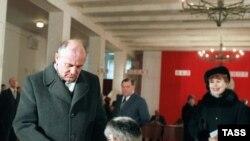 Чета Горбачевых, 1985 год