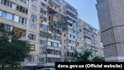 The blast occurred in a Kyiv apartment building on the morning of June 21.